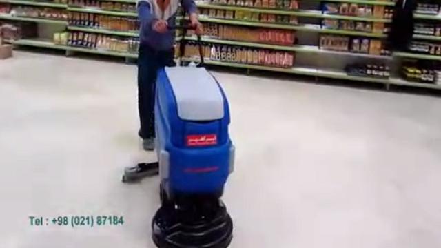 چرا از اسکرابر در شستشوی فروشگاه استفاده کنیم؟  - Why use a scrubber to wash the store?