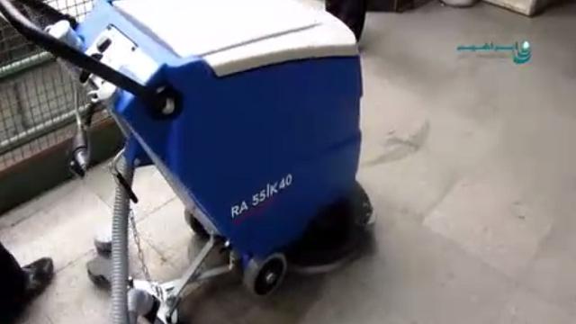 مکش فوق العاده با لاستیک تی اسکرابر  - Super Suction with squeege of scrubbers
