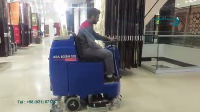 اسکرابر گالری فرش  -  scrubber dryer for carpet Gallery
