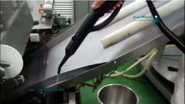 حذف آلودگی ها با بخار شوی  - Remove dirt with steam cleaner