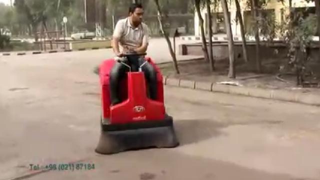 سوییپر برای نظافت محوطه های بسیار وسیع  - Sweeper for cleaning large areas