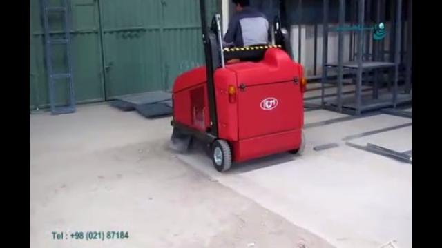 بکارگیری دستگاه سویپر در نظافت محیط های صنعتی  - Use of sweeper devices  in cleaning the industrial environments