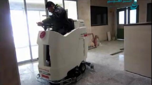 اسکرابر بیمارستانی و شستشوی موثر کف پوش ها  -  scrubbers nobac and effective floor cleaning