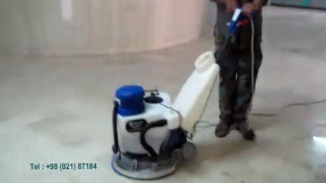 سیستم مکش آب پولیشر  - Polisher water suction system