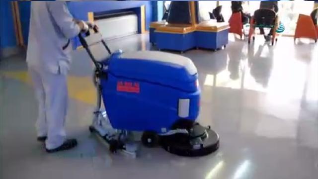 اسکرابر دستی برای نظافت بیمارستان ها  - walk behind scrubbers for cleaning hospitals