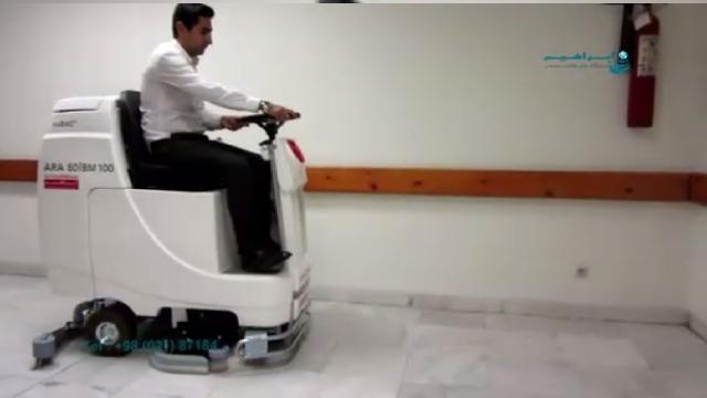 اسکرابر ضد باکتری مخصوص نظافت بیمارستان  - Antibacterial scrubbers for hospital cleaning