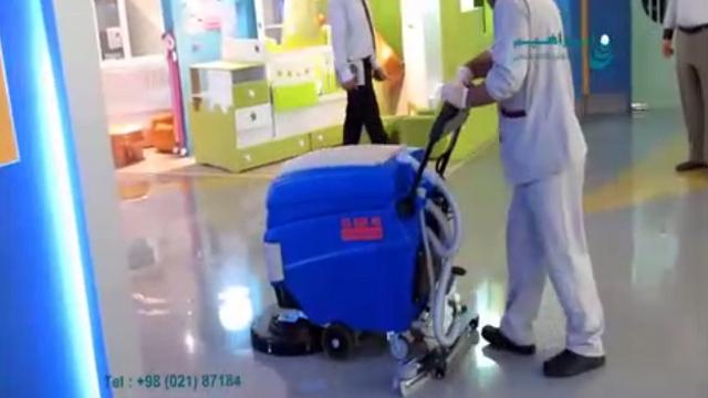 برتری اسکرابر نسبت به روش سنتی شستشو چیست؟  - What is the scrubber superiority to the traditional washing method?