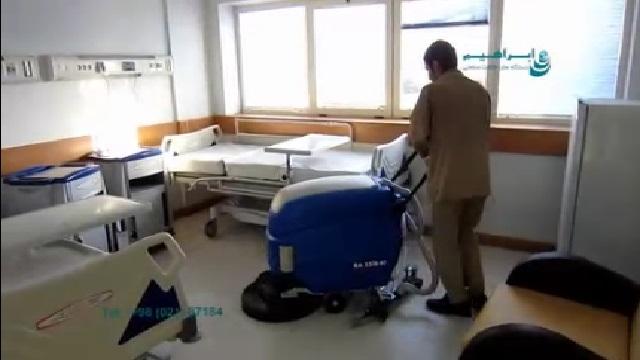 حذف آلاینده ها از روی سطوح با استفاده از اسکرابر  - Remove contaminants from surfaces using scrubbers