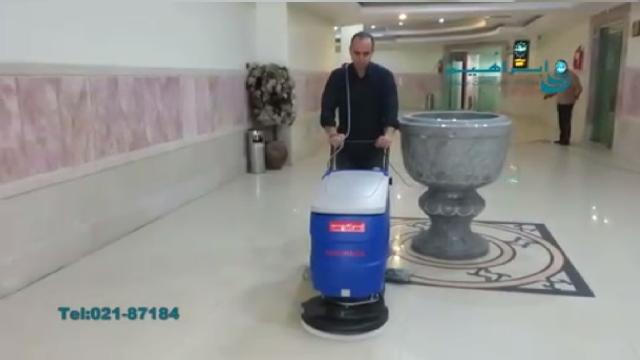 کاربرد اسکرابر برای شستشوی سطوح براق و درخشان  - usage of scrubber for brilliant and glossy surfaces