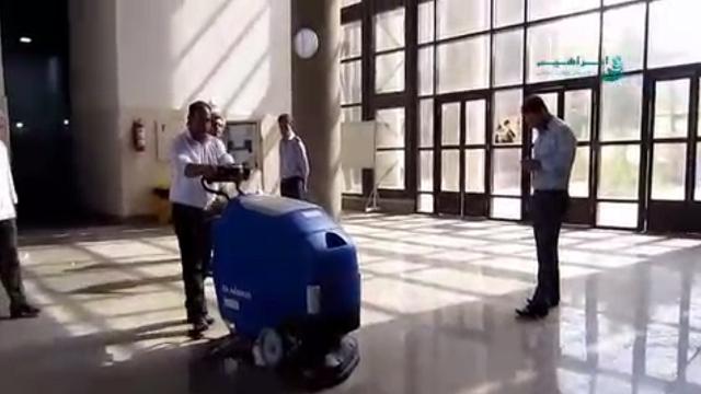 پهنای شستشوی موثر اسکرابر صنعتی  -  Effective width of industrial scrubbers