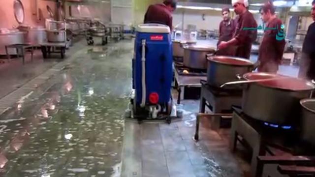 تاثیر خارق العاده اسکرابر در شستشو و مکش آلودگی  - Extraordinary scrubber effect on washing and suction of contamination