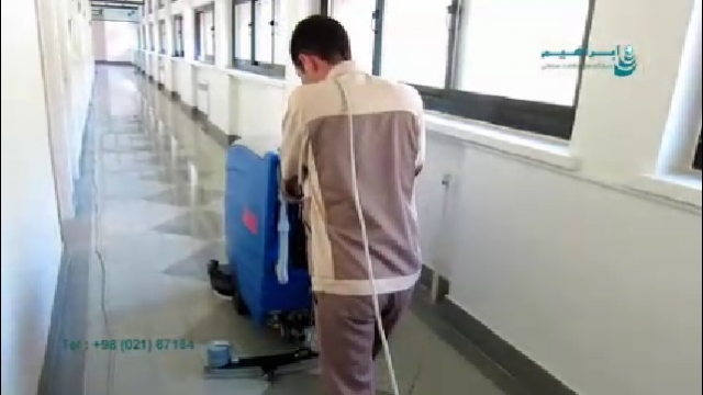 ابعاد مناسب اسکرابر برای نظافت معابر باریک  - Scrubber dimensions for cleaning narrow passage