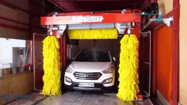 دستگاه کارواش سواری شوی  - Car wash machine