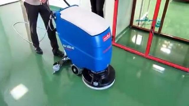 شستشوی اپوکسی کف کارخانه ها  - Epoxy floor cleaning factories