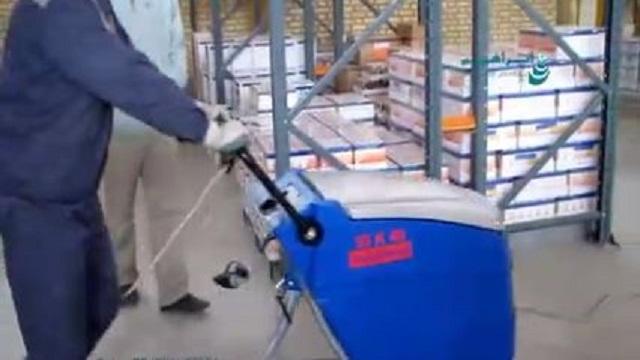 امکان نظافت سطوح با کفپوش های مختلف به وسیله اسکرابر  - Ability clean different surfaces scrubber