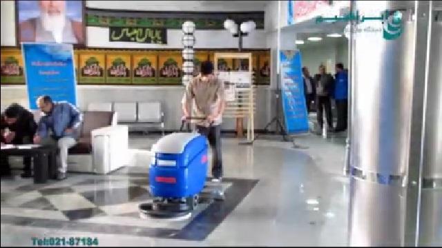 اسکرابر و سهولت در شستشوی سطوح  - Scrubber and ease of washing surfaces