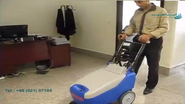 اسکرابر برای نظافت اداره ها و دفاتر کاری  - Scrubber for cleaning offices and organizations