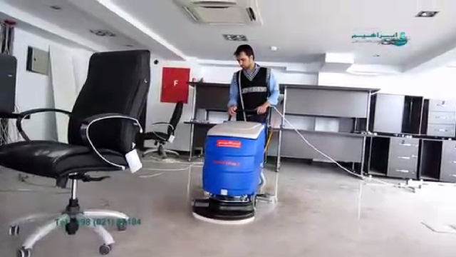 اسکرابر کابلی مناسب شستشوی انواع سطوح  - Scrubber suitable for washing various types of surfaces