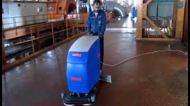 نظافت نیروگاه برق با اسکرابر  - Cleaning power plants with scrubbers