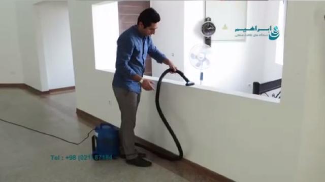 نظافت هتل و مهمانسرا با جاروبرقی هتلی  - Hotel and guest house cleaning with hotel vacuum cleaner