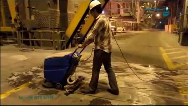 کفشوی کارخانه جات صنعتی   - Industrial-factories-scrubbers