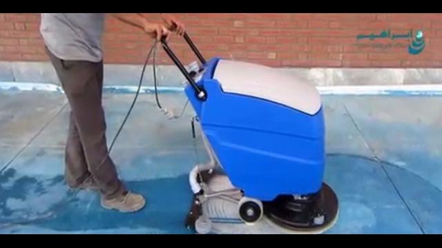 کفشوی محوطه های صنعتی   - Industrial-areas-scrubber